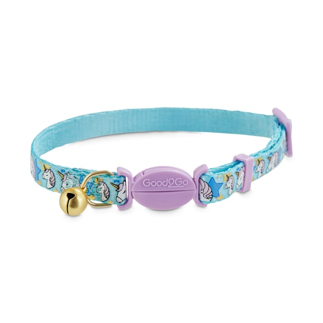 Good2Go Unicorn Print Breakaway Cat Collar - Carousel image #1