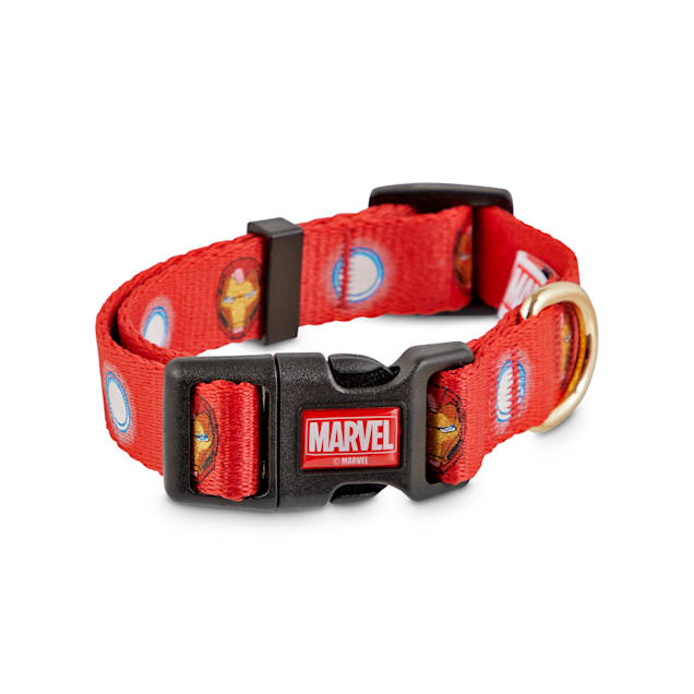 Marvel Avengers Iron Man Dog Collar, Small - Carousel image #1