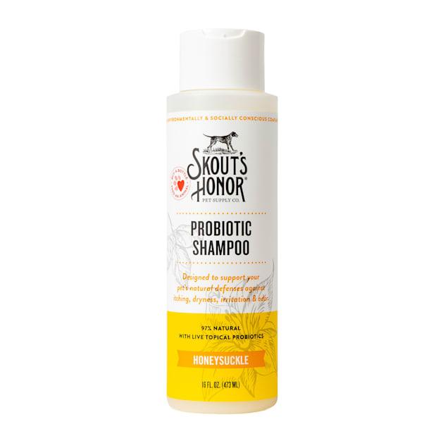 Skout's Honor Probiotic Shampoo Honeysuckle for Dogs, 16 fl. oz. - Carousel image #1