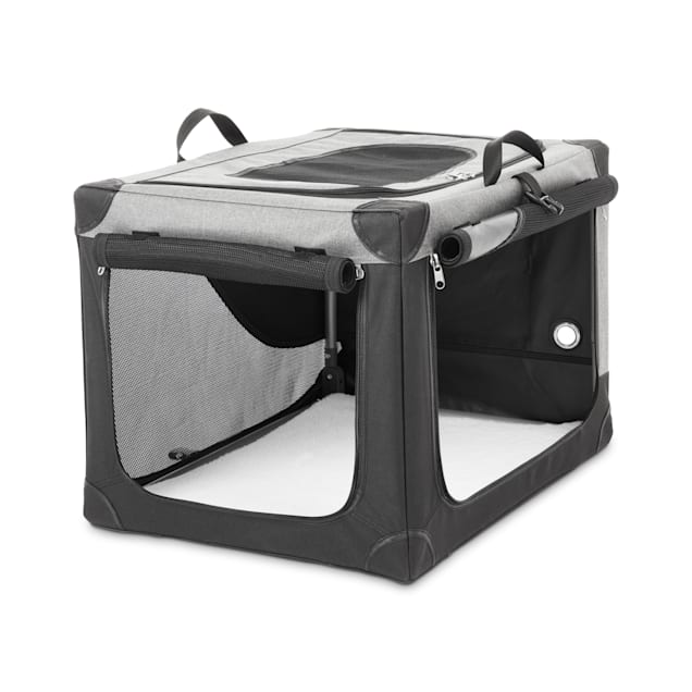 """You & Me Stow & Go Portable Canvas Dog Crate, 24"""" - Carousel image #1"""