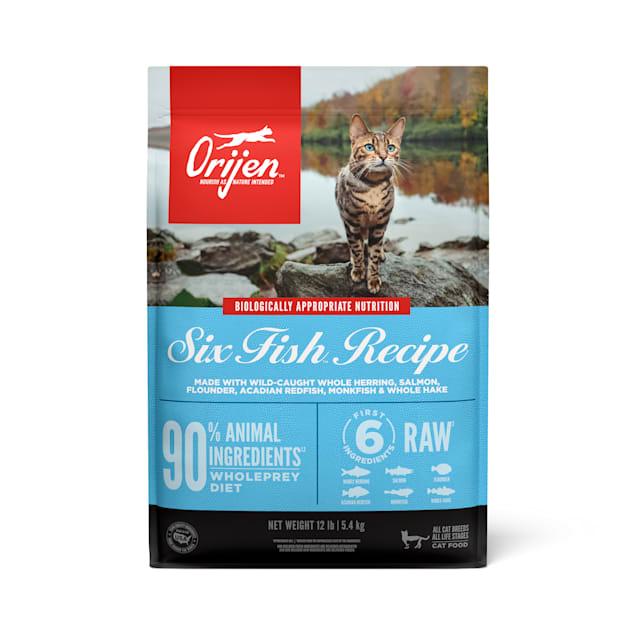 ORIJEN Six Fish Dry Cat Food, 12 lbs. - Carousel image #1