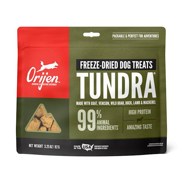 ORIJEN Freeze-Dried Tundra Dog Treats, 3.25 oz. - Carousel image #1