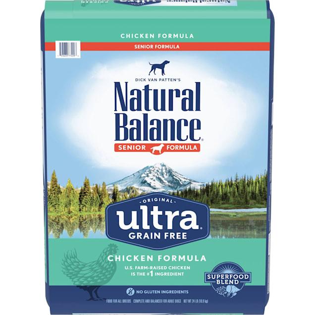 Natural Balance Original Ultra Grain Free Chicken Senior Formula Dry Dog Food, 24 lbs. - Carousel image #1