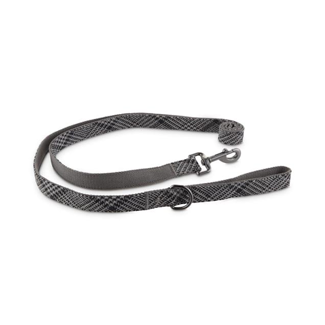 Bond & Co. Grey Houndstooth Dog Leash, 6 ft. - Carousel image #1