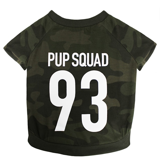 LaurDIY Pets First Pup Squad T-Shirt for Dogs, X-Small - Carousel image #1