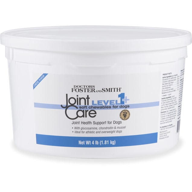 Drs. Foster and Smith Level 1+ Joint Care Soft Chews for Dogs, 4 lbs. - Carousel image #1
