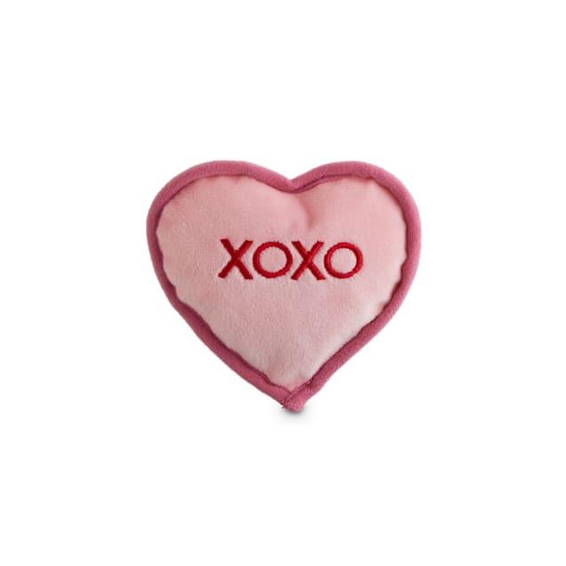 Bond & Co. Valentine's Day Sweetheart Plush Dog Toy in Assorted Styles, X-Small - Carousel image #1