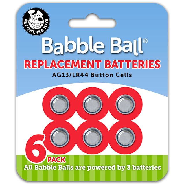 Pet Qwerks Babble Balls Replacement Batteries for Dogs - Carousel image #1