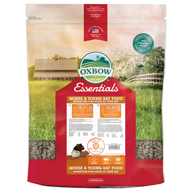 Oxbow Essentials Mouse & Young Rat Food, 25 lbs. - Carousel image #1
