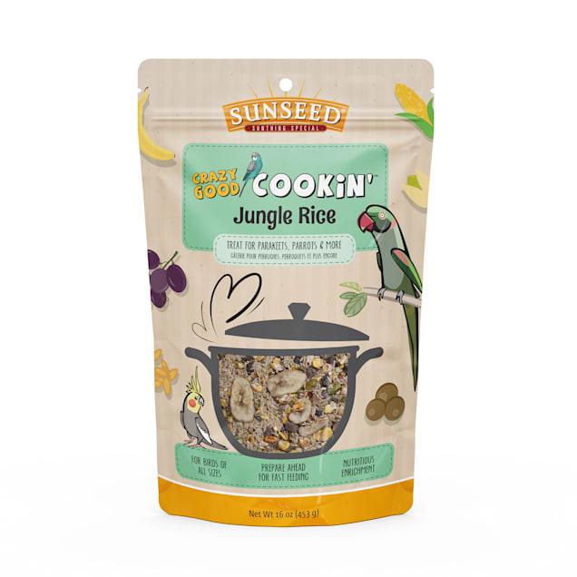 Sun Seed Crazy Good Cookin' Jungle Rice Treat for Birds, 16 oz. - Carousel image #1