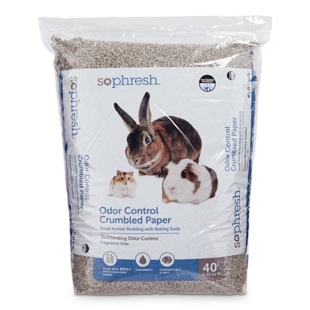 So Phresh Crumbled Paper Small Animal Bedding, 40 L - Carousel image #1
