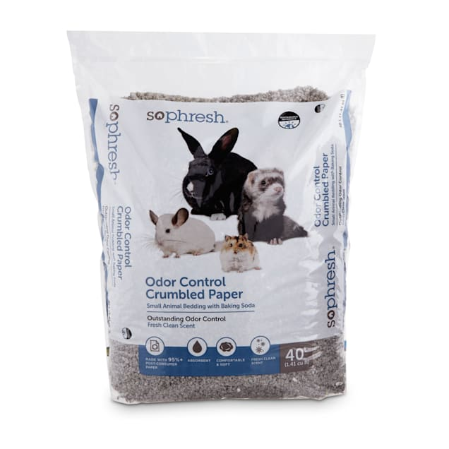 So Phresh Odor-Control Crumbled Paper Small Animal Bedding, 40 Liters - Carousel image #1