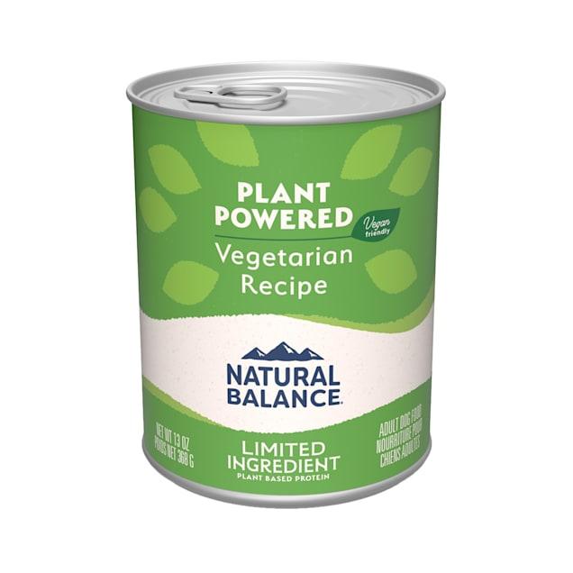 Natural Balance Vegetarian Formula Wet Dog Food, 13 oz., Case of 12 - Carousel image #1