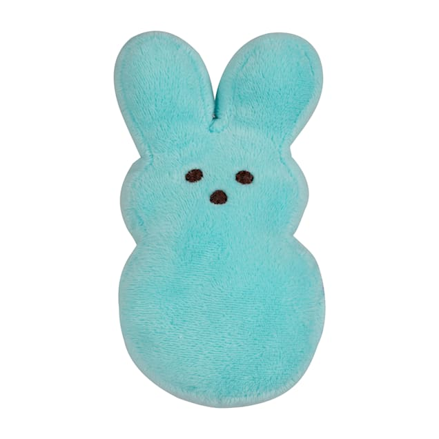 Peeps for Pets Plush Bunny Blue/Pink Assorted Easter Dog Toy, Small - Carousel image #1