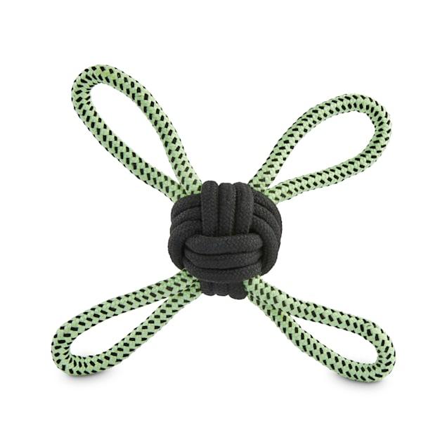 Leaps & Bounds Glow Rope Dog Toy, Medium - Carousel image #1
