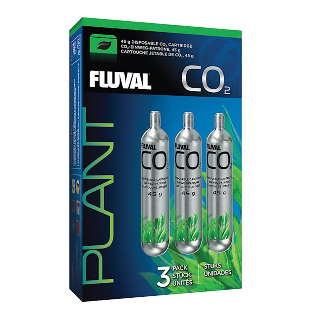 Fluval 3 Pack Pressurized Disposable CO2 Cartridge, 45 Gram - Carousel image #1