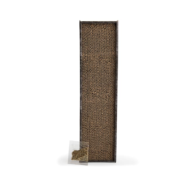 """EveryYay Scratchin' the Surface Single-Wide Cardboard Cat Scratcher in Various Styles, 18.5"""" L X 4.5"""" W  X 1.75"""" H - Carousel image #1"""