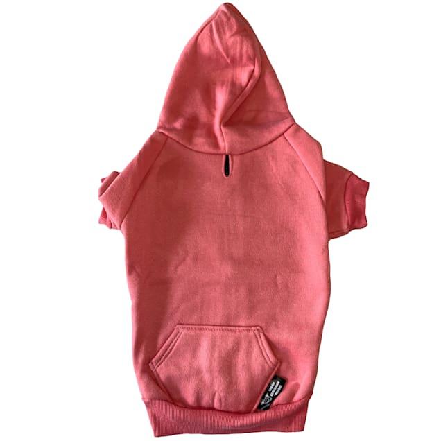 Urban Suburban Apparel Pink Dog Zip-Up Hoody, Small - Carousel image #1