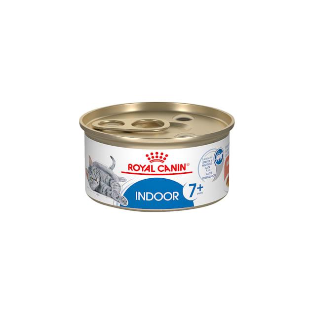 Royal Canin Feline Health Nutrition Indoor 7+ Morsels in Gravy Wet Cat Food, 3 oz., Case of 24 - Carousel image #1