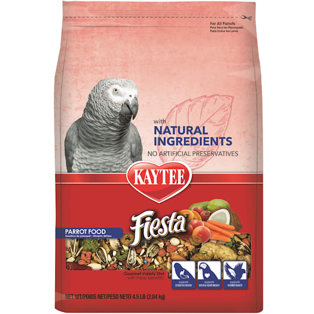 Kaytee Fiesta with Natural Colors Parrot Food, 4.5 lbs. - Carousel image #1