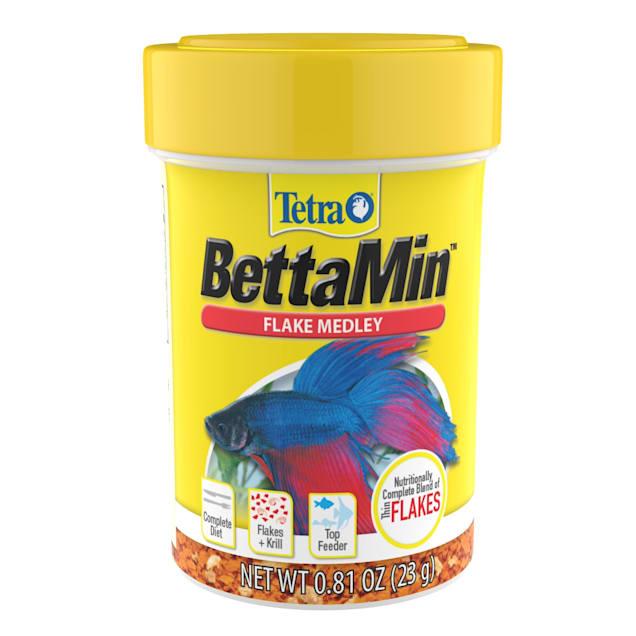 Tetra BettaMin Flake Medley, 0.81 oz. - Carousel image #1