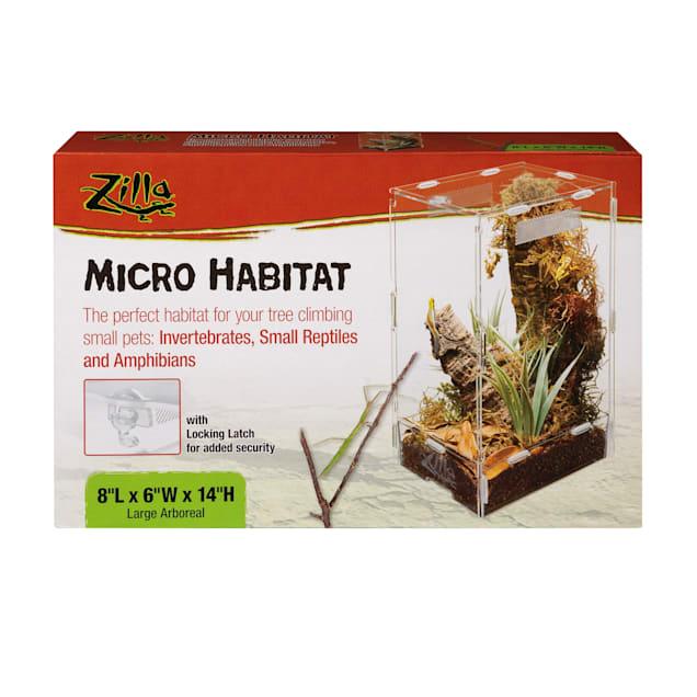 "Zilla Micro Habitat Arboreal, 8"" L X 6"" W X 14"" H - Carousel image #1"