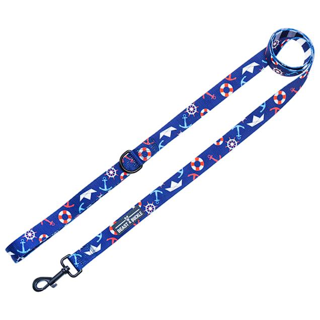 Beast & Buckle Sailor Dog Leash, 5 ft. - Carousel image #1