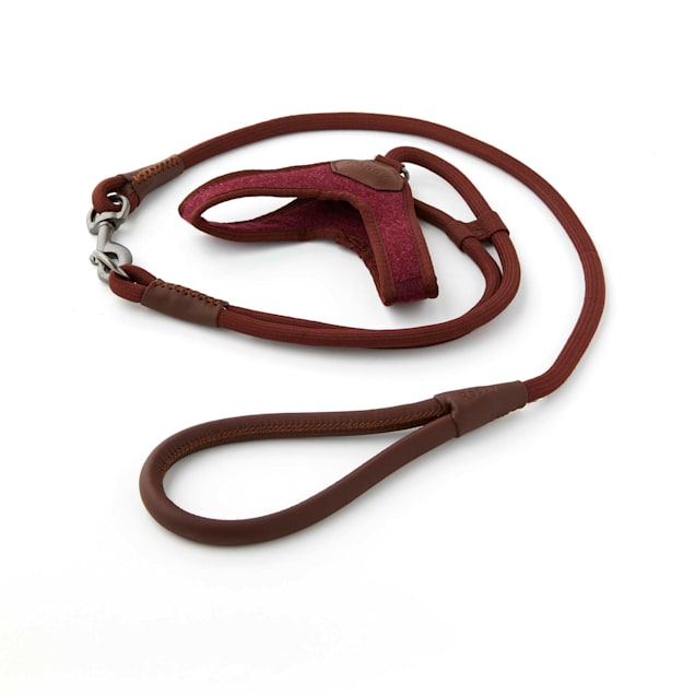 Reddy Burgundy Comfort Dog Harness, XX-Small/X-Small - Carousel image #1
