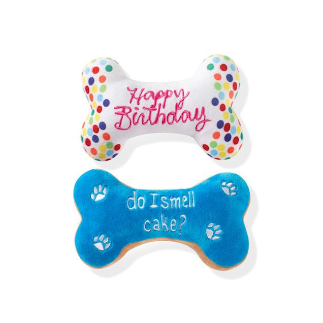 PetShop by Fringe Studio Birthday Bone Cookies Pet Toy - Carousel image #1