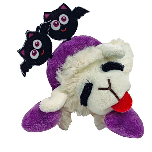Multipet Halloween Lamb Chop with Bat Headband Dog Toys, X-Small - Carousel image #1