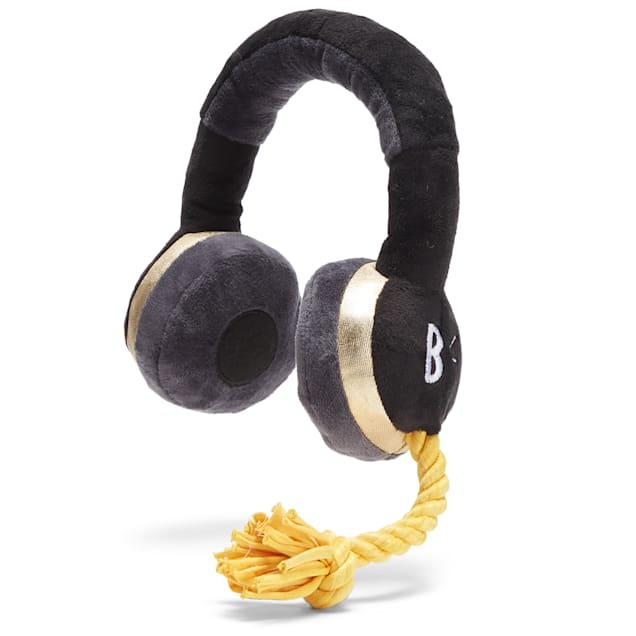 BARK In The Zone Headphones Dog Toy, Medium - Carousel image #1