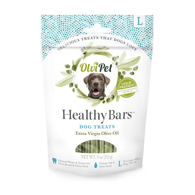 Olvipet Healthy Teeth Cleaning Bars for Dogs, 9 oz. - Carousel image #1