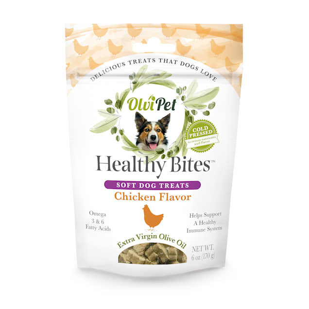 Olvipet Healthy Bites Soft Dog Treats, 6 oz. - Carousel image #1
