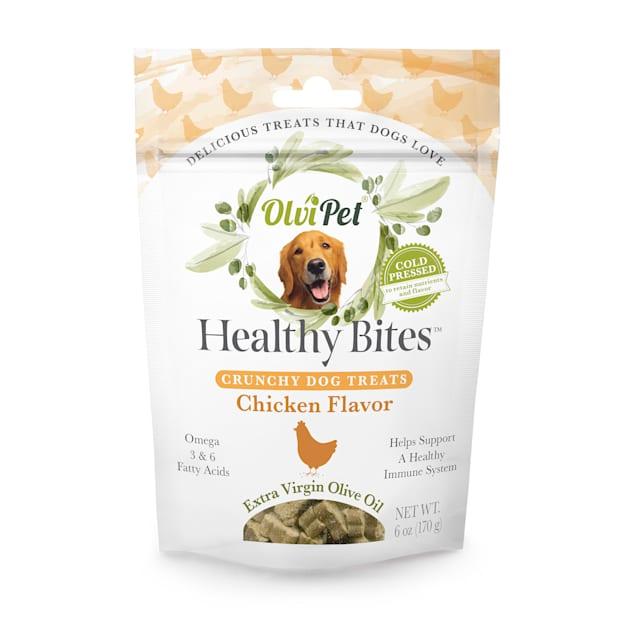Olvipet Healthy Bites Crunchy Dog Treats, 6 oz. - Carousel image #1