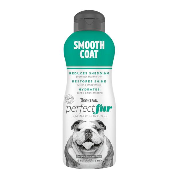 TropiClean Perfect Fur Smooth Coat Dog Shampoo, 16 fl. oz. - Carousel image #1