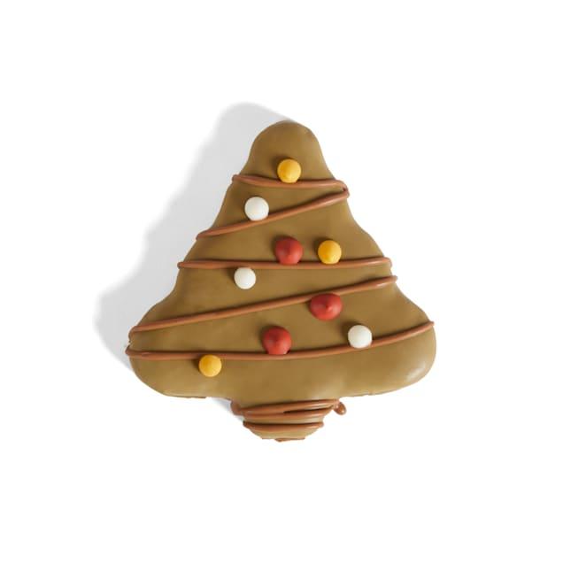Holiday Tails Season's Treatings Christmas Tree-Shaped Cookie Dog Treat, 1.6 oz. - Carousel image #1