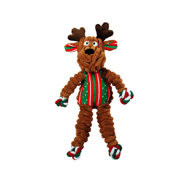 KONG Floppy Knots Reindeer Dog Toy, Small/Medium - Carousel image #1