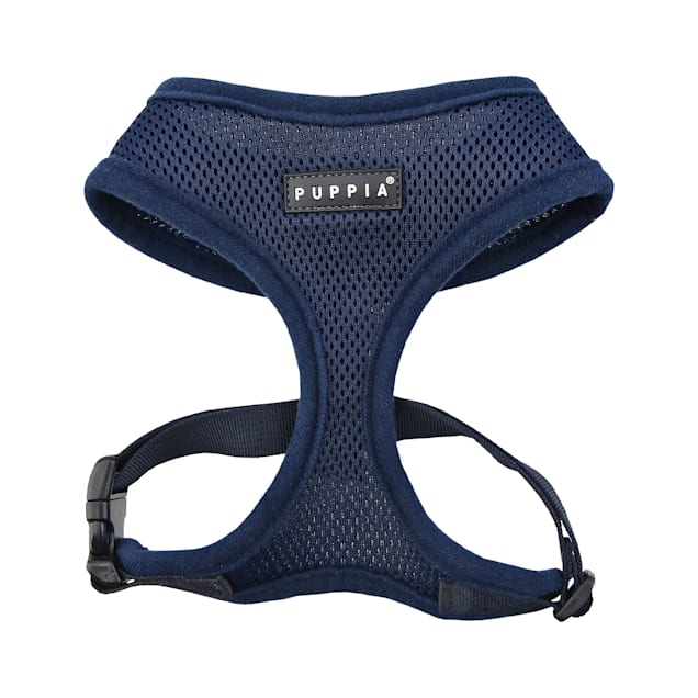 Puppia Navy Soft Dog Harness, X-Small - Carousel image #1