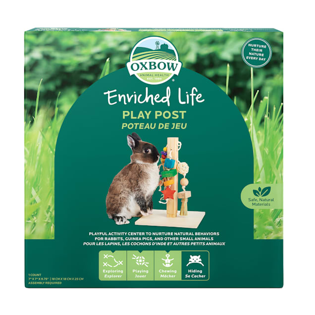 Oxbow Enriched Life Play Post for Small Animals - Carousel image #1