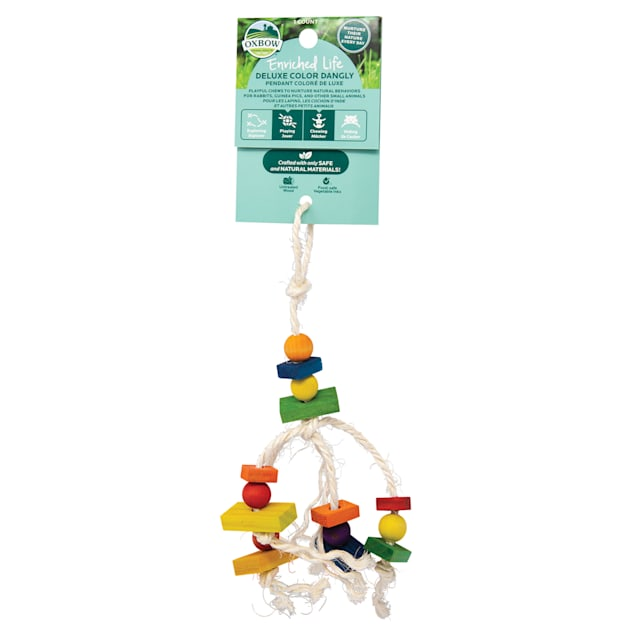 Oxbow Enriched Life Deluxe Color Dangly for Small Animals - Carousel image #1