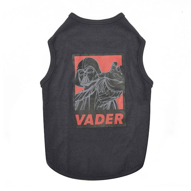 Fetch for Pets Black Darth Vader Tank Dog T-Shirt, X-Large - Carousel image #1