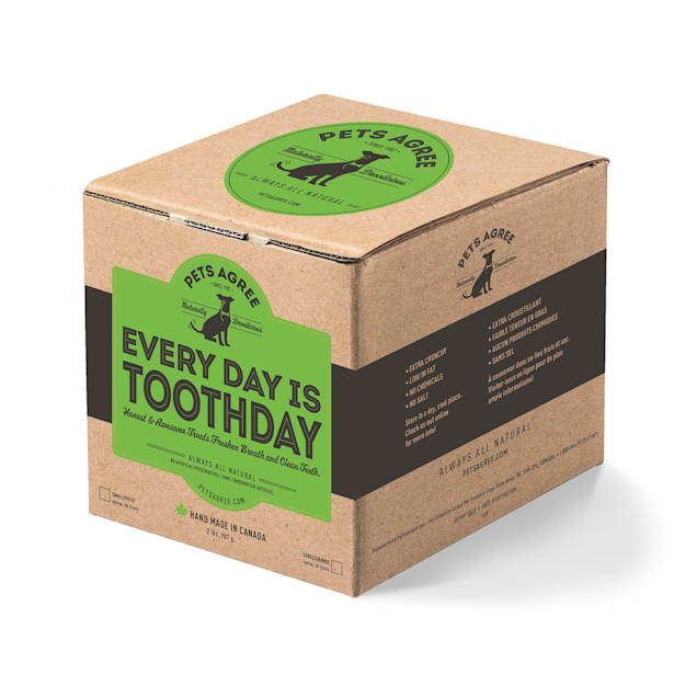 The Granville Island Pet Treatery Large Pets Agree Every Day is Toothday Dog Biscuits, 2 lbs. - Carousel image #1