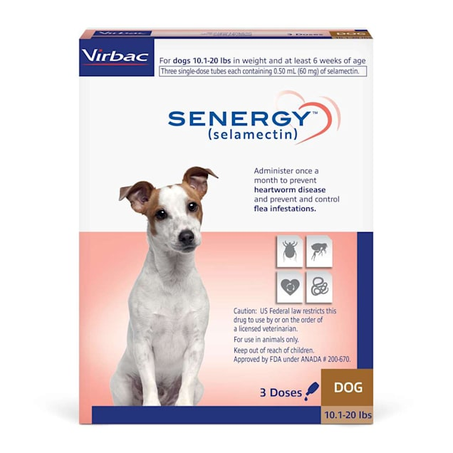 SENERGY TOPICAL 10.1-20 lbs. for Dogs, 3 Pack - Carousel image #1