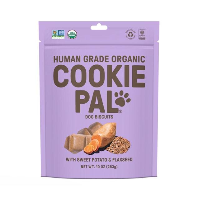 CookiePal Organic Sweet Potato and Flaxseed Recipe Dog Biscuits, 10 oz. - Carousel image #1