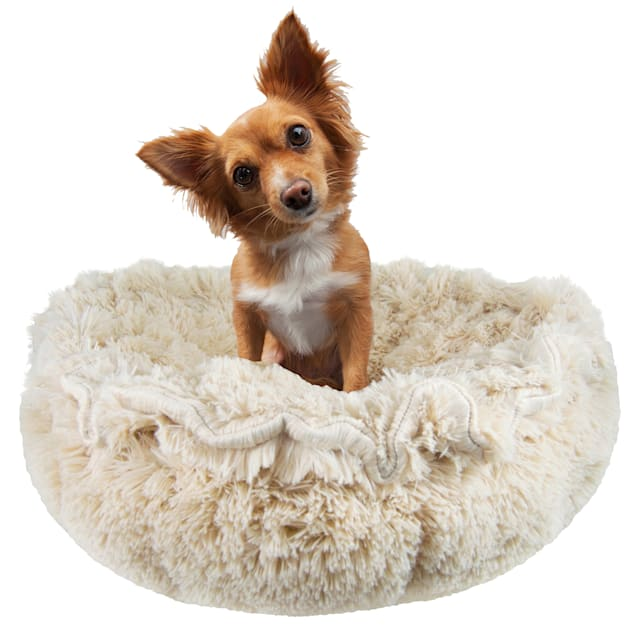 """Bessie and Barnie Ultra Plush Blondie Deluxe Luxury Pet Cuddle Pod Bed, 30"""" L X 30"""" W - Carousel image #1"""