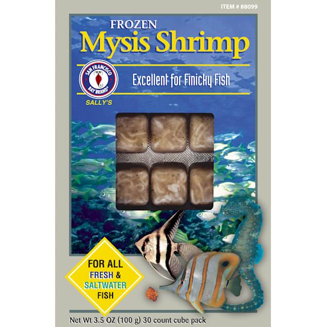 San Francisco Bay Brand Frozen Mysis Shrimp, 3.5 oz. - Carousel image #1