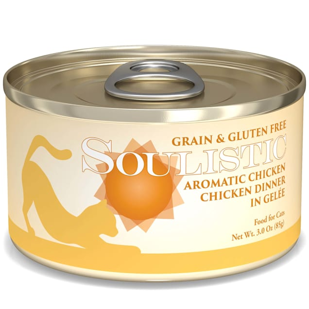 Soulistic Aromatic Chicken Chicken Dinner in Gelee Wet Cat Food, 3 oz., Case of 12 - Carousel image #1