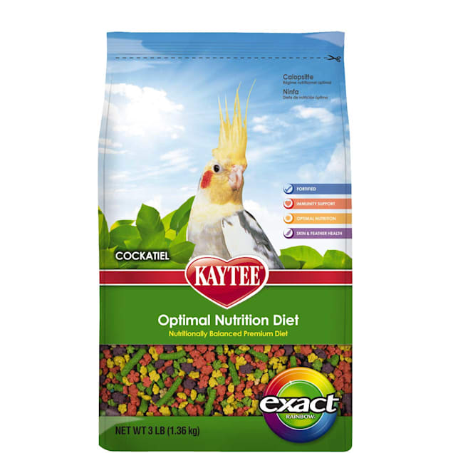 Kaytee Exact Rainbow Premium Daily Nutrition for Cockatiels - Carousel image #1
