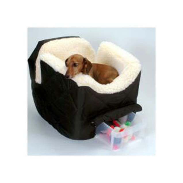 Snoozer Black Pet Car Seat Lookout II, Small - Carousel image #1