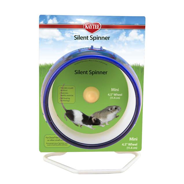 Kaytee Silent Spinner Exercise Wheel, Mini - Carousel image #1